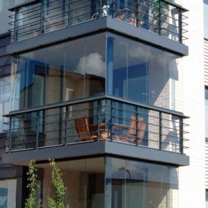 Остекление террас и балконов