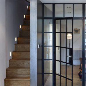Распашные двери лофт